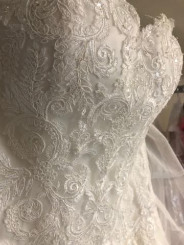 Bruidsjapon met steentjes